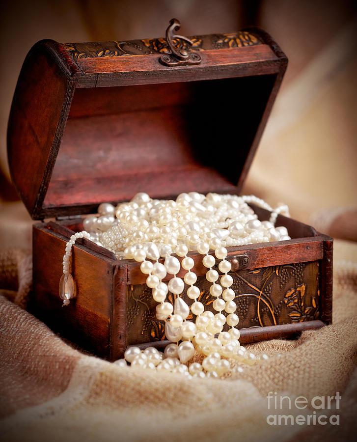 Treasure Photograph - Treasure Chest by Gabriela Insuratelu