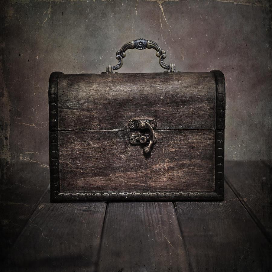 Chest Photograph - Treasure by Joana Kruse