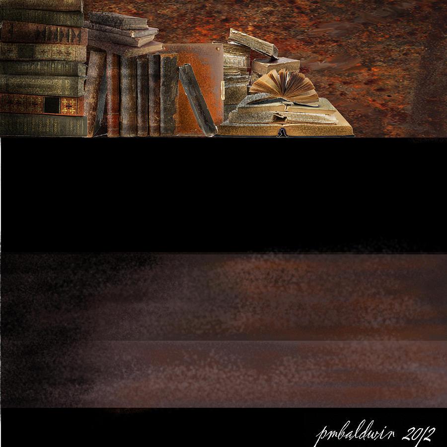 Digital Painting - Treasured Cache by Patrice Baldwin