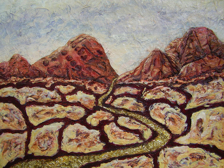 Canyonlands Painting - Treasures Of Copper Canyons by Jan Reid