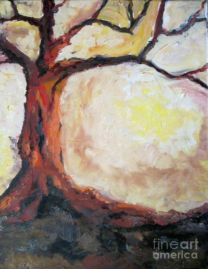 Tree Painting - Tree by Claudia Croneberger