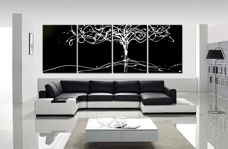 Tree Of Life Black And White Painting By Dora Woodrum
