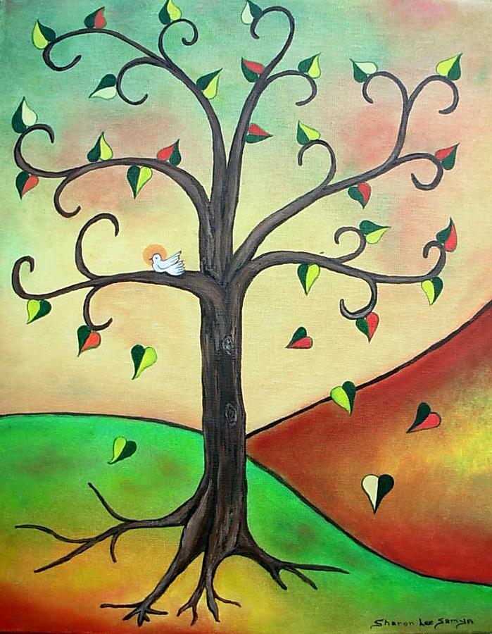 Tree Of Life Ii Drawing By Sharon Lee Samyn