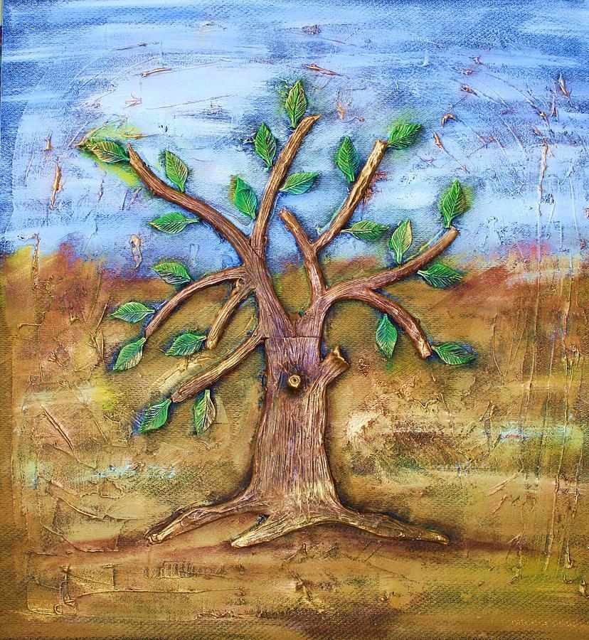 Tree Of Life Ceramic Art by Junior Polo