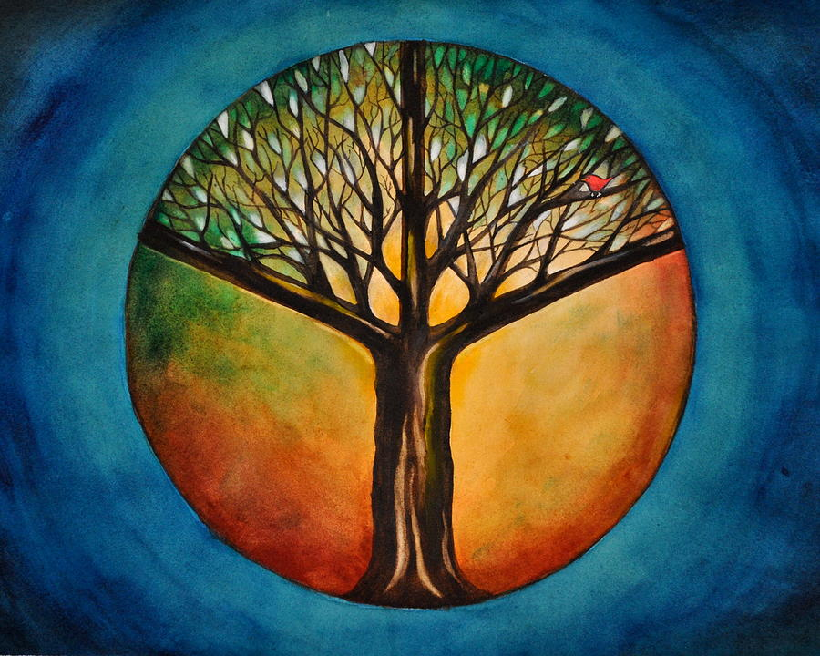 Tree Of Life Painting By Laura Shepler