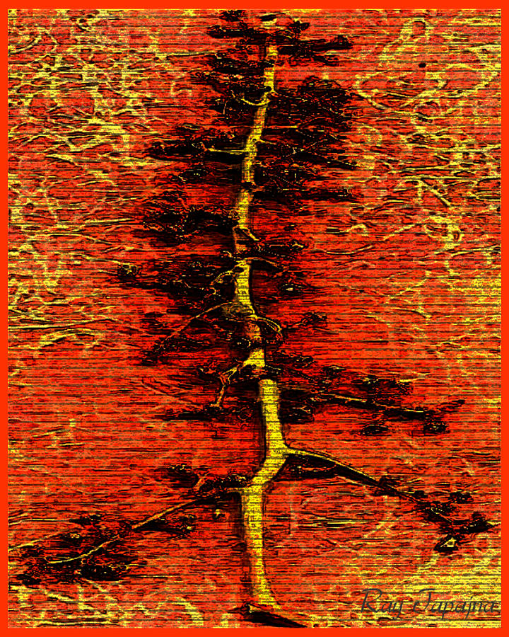 Tree Mixed Media - Tree Of Life by Ray Tapajna