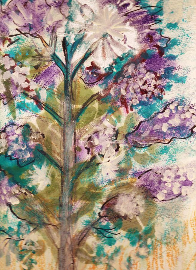 Tree Painting - Tree Of My Imagination by Anne-Elizabeth Whiteway