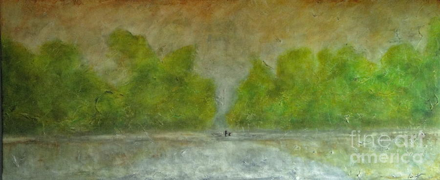 Thai Painting - Trees by Vanessa Grant