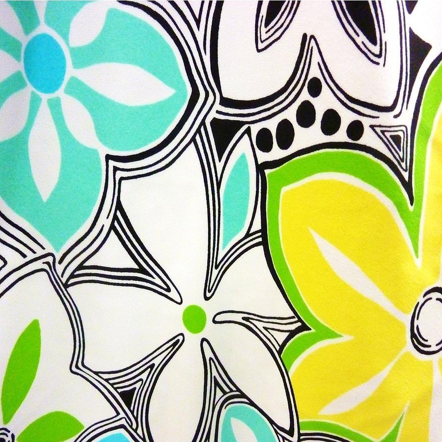 Flower Digital Art - Trendy Floral by Florene Welebny