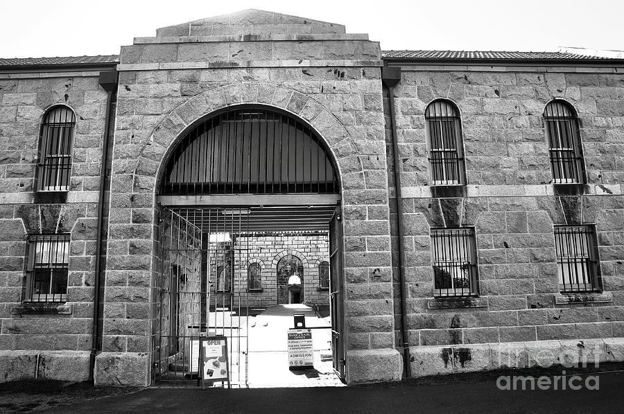 Photography Photograph - Trial Bay Jail by Kaye Menner
