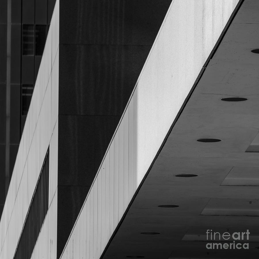 Architecture Photograph - Triangles and Zig-Zag by Matt  Trimble