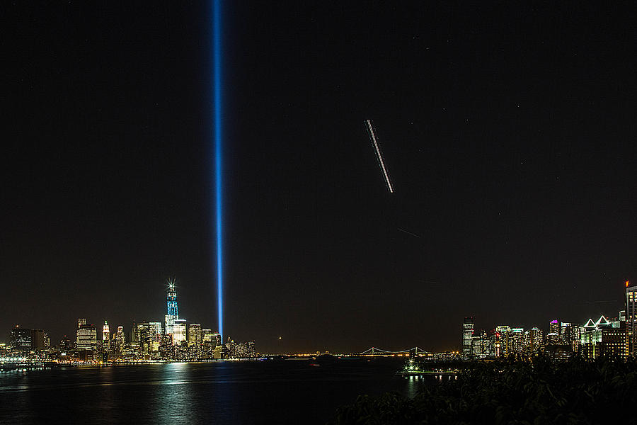 September 11 Attacks Photograph - Tribute In Light by John Dryzga
