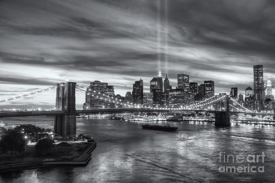 Clarence Holmes Photograph - Tribute In Light V by Clarence Holmes