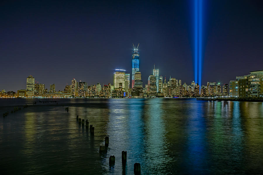 Tribute In Light Photograph - Tribute In Lights by Susan Candelario