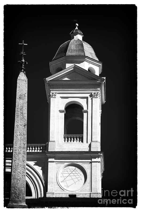 Trinita Church Tower Photograph - Trinita Church Tower by John Rizzuto