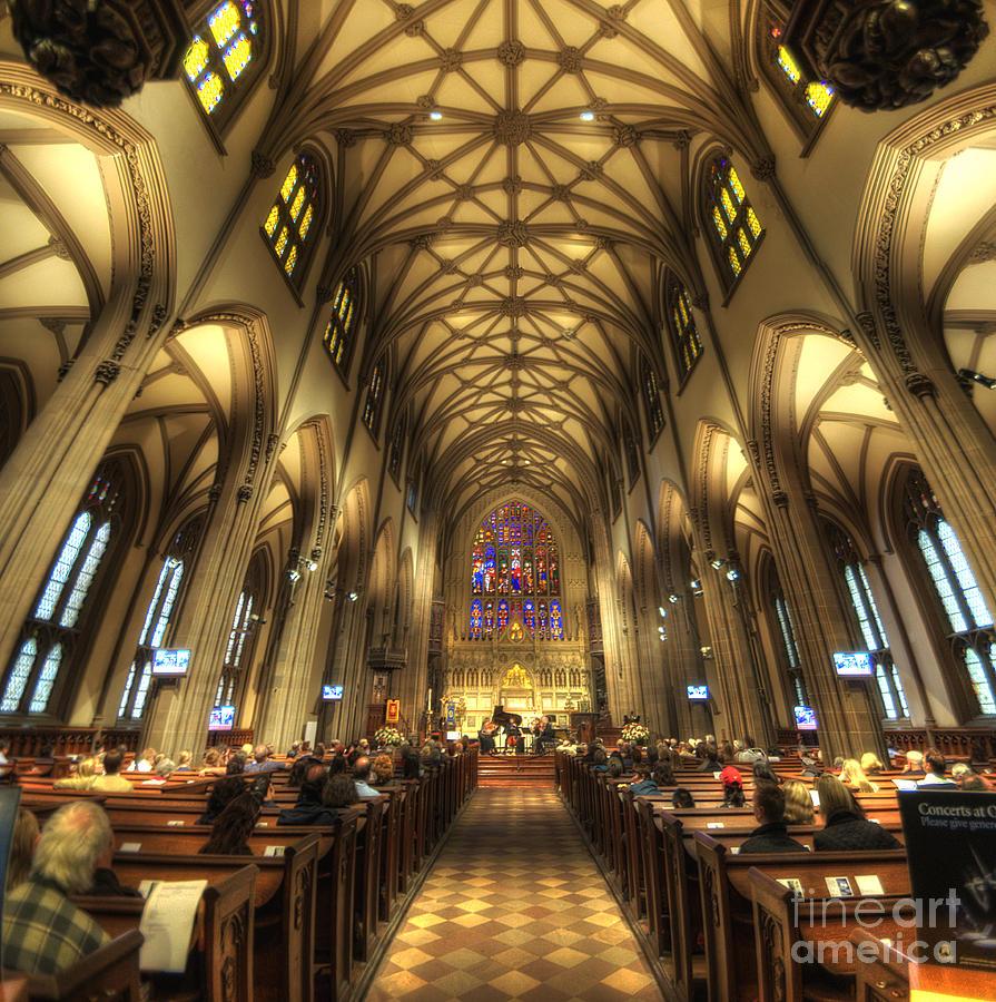 For Sale Photograph - Trinity Church Nyc by Yhun Suarez