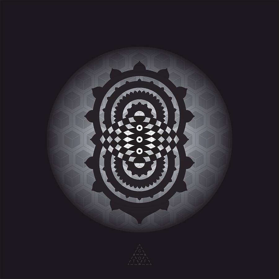 Eye Digital Art - Trinity Eye V30.1 by Guardians of the Future