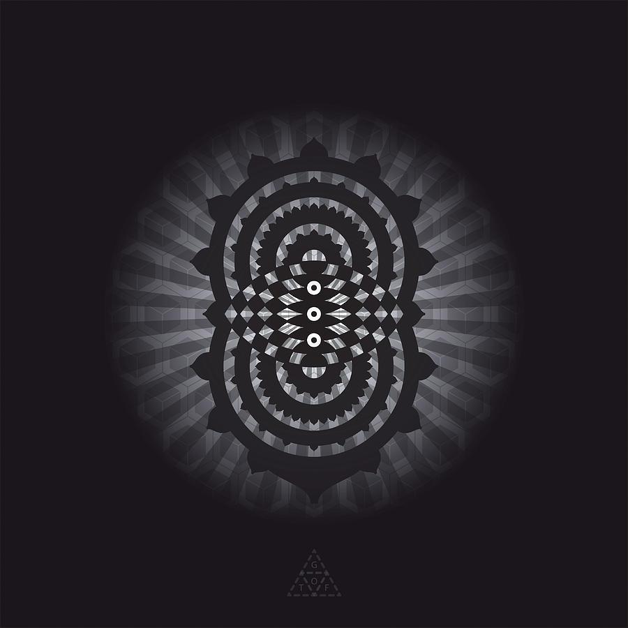 Eye Digital Art - Trinity Eye V30.2 by Guardians of the Future
