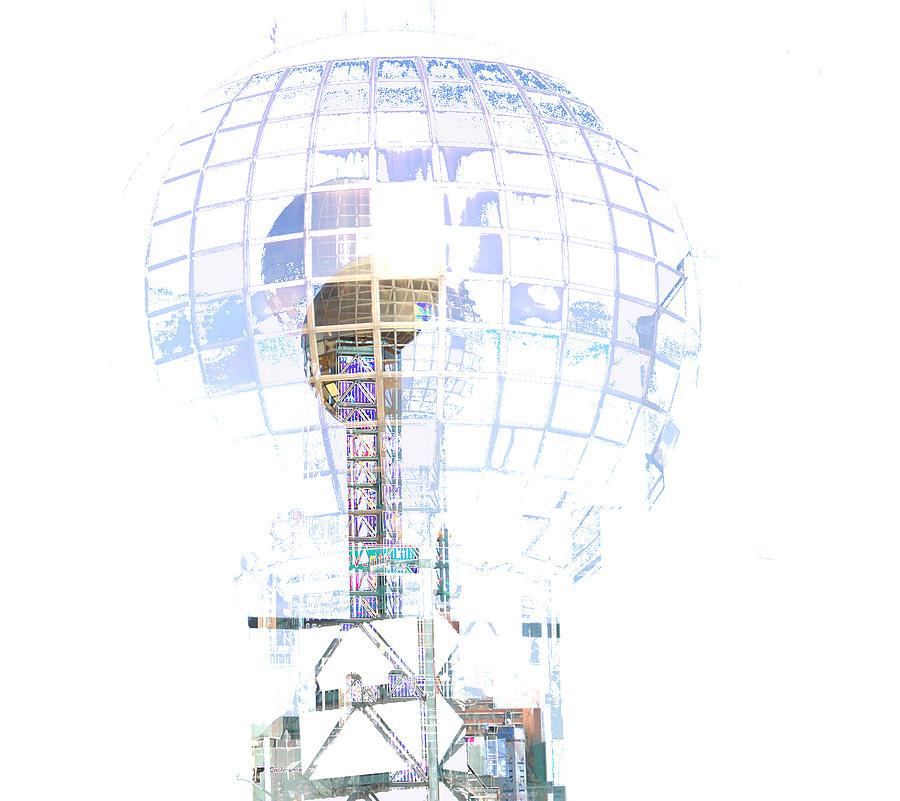 Sunsphere Digital Art - Triple Sunsphere by Bill Kennedy