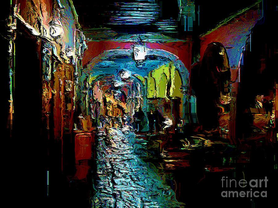 San Miguel De Allende Digital Art - Trippin In San Miguel by John  Kolenberg