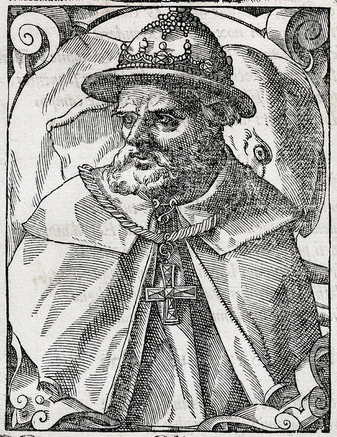 Human Photograph - Tristao Da Cunha, Portuguese Explorer by Middle Temple Library