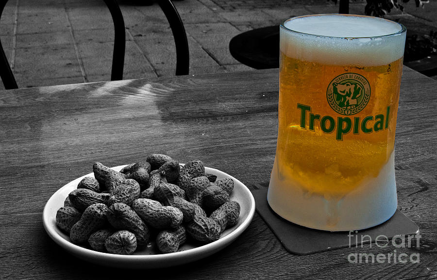 Tropical Photograph - Tropical Beer by Rob Hawkins