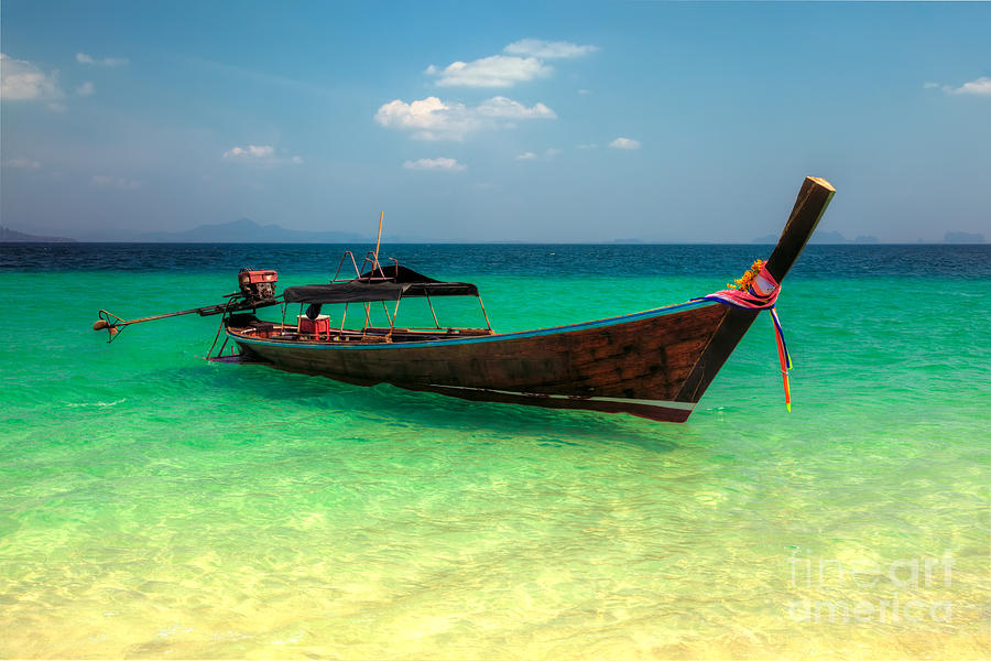 Asia Photograph - Tropical Boat by Adrian Evans