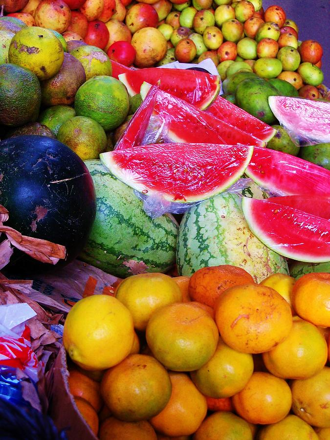 Fruit Photograph - Tropical Colouring by Bram Voets