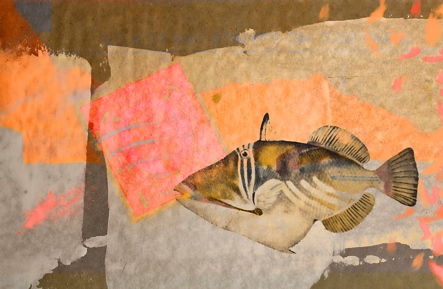 Collage Digital Art - Tropical Dream Number 2 by Carol Leigh