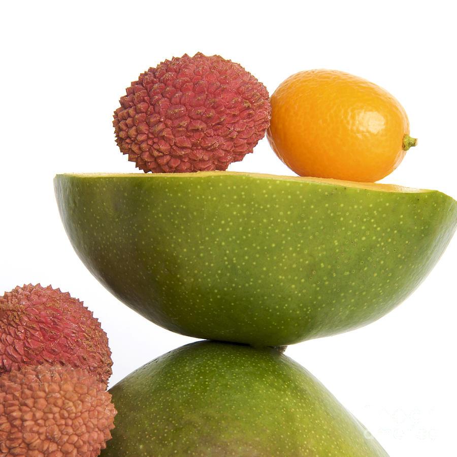 Vitamins Photograph - Tropical Fruits by Bernard Jaubert