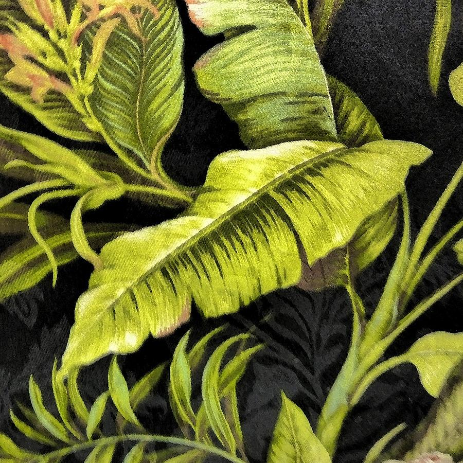 Tropical Leaves Photograph by Florene Welebny