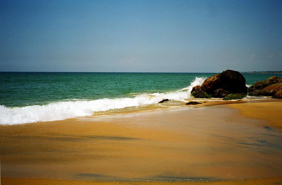 India Photograph - Tropical Sandy Beach by Jasna Buncic