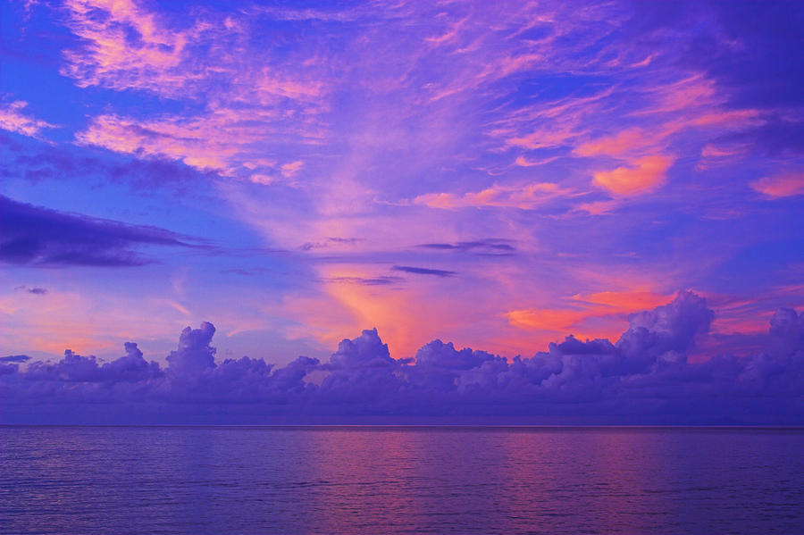 Tropical Sunset 3- St Lucia by Chester Williams
