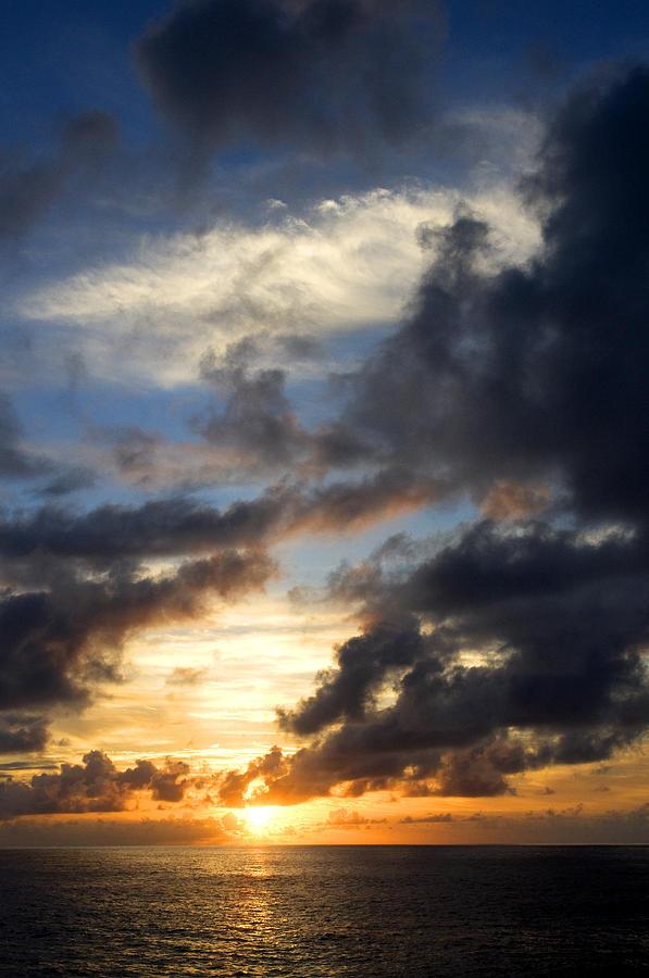 Tropical Photograph - Tropical Sunset by Fabrizio Troiani