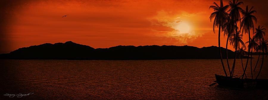 Lourry Legarde Photograph - Tropical Sunset by Lourry Legarde