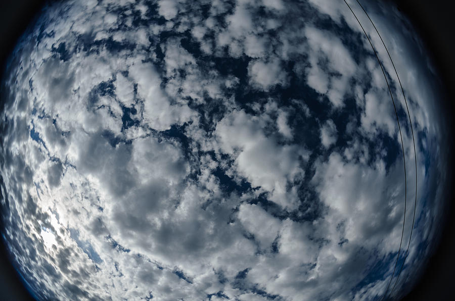 Clouds Photograph - Troposphere by Michael Goyberg