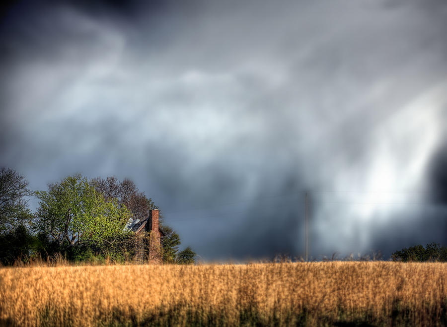 Trouble Brewing Photograph - Trouble Brewing  by JC Findley