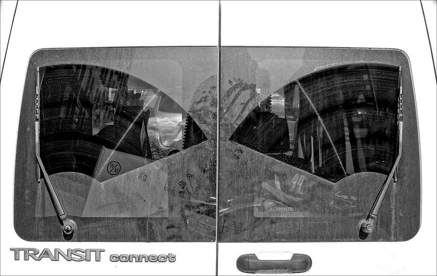 Windshield Photograph - Truck Windshield by Robert Ullmann