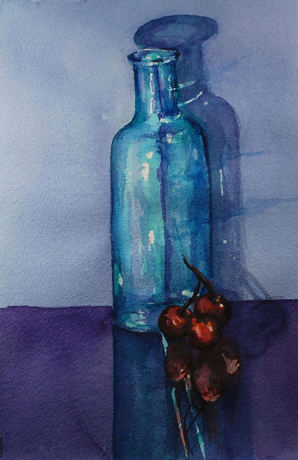 Watercolor Painting - True Friends Are Transparent by Donna Pierce-Clark