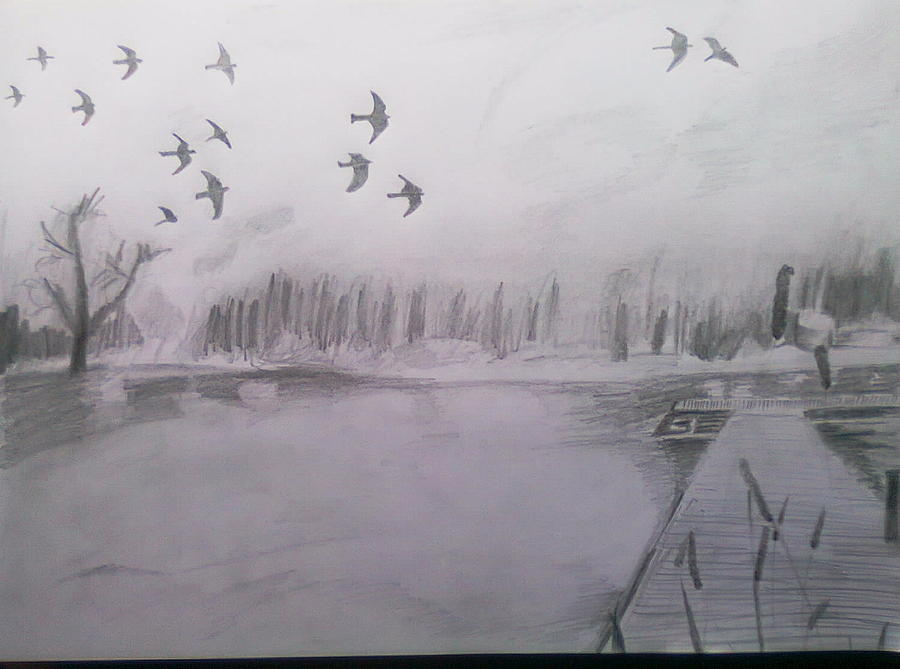 True nature drawing by vineet paharia for How to draw nature drawing