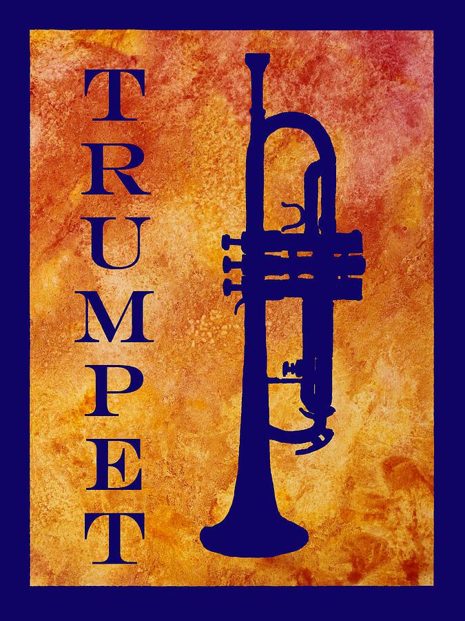 Trumpet Digital Art - Trumpet by Jenny Armitage