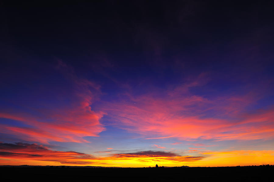 Sunset Photograph - Try To Set The Night On Fire by Richard Leon