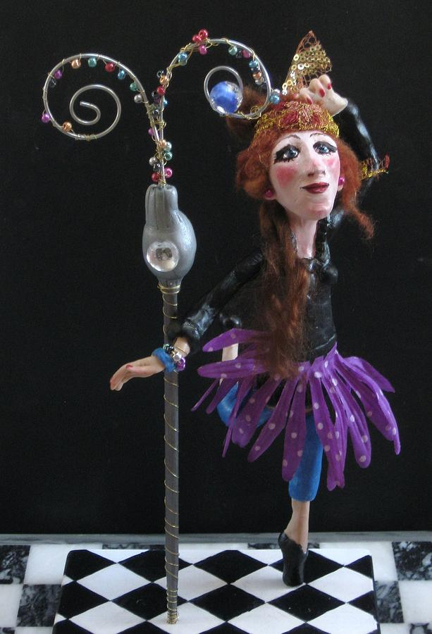 Clay Mixed Media - Tryouts by Cathi Doherty