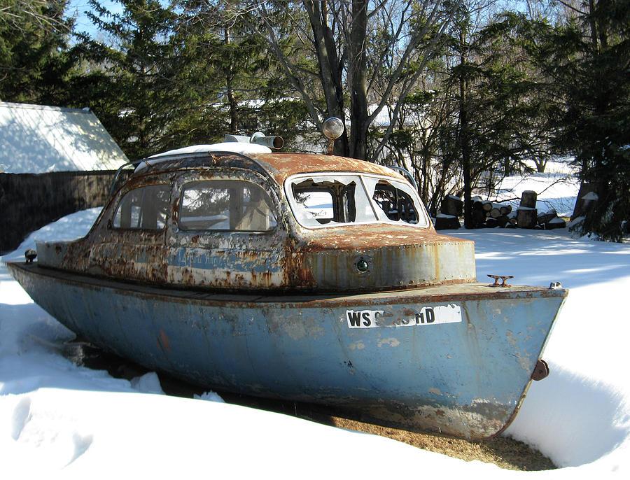 Tug Boat Car Photograph By Shelia Howe