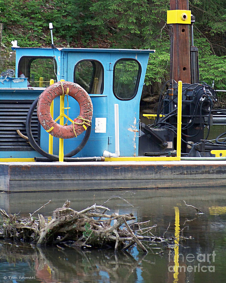 Boat Photograph - Tug Boat by Tammy Ishmael - Eizman