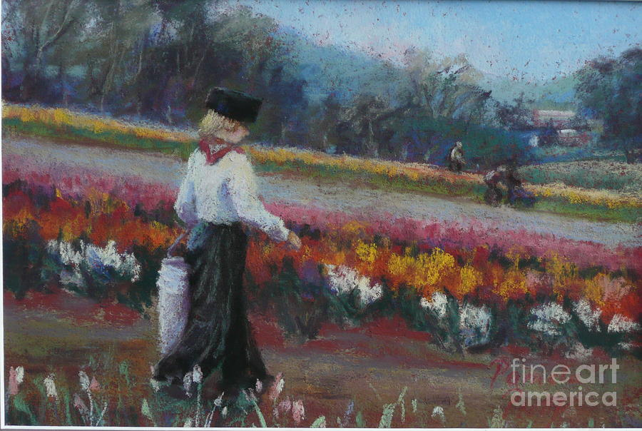 Tulips Painting - Tulip Heritage by Pamela Pretty