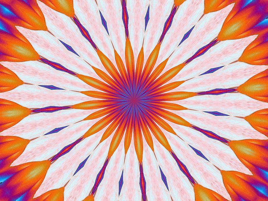 Tulip Digital Art - Tulips In The Sun by Alec Drake