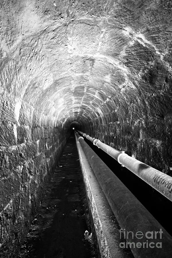 Tunnel Photograph - Tunnel by Gaspar Avila
