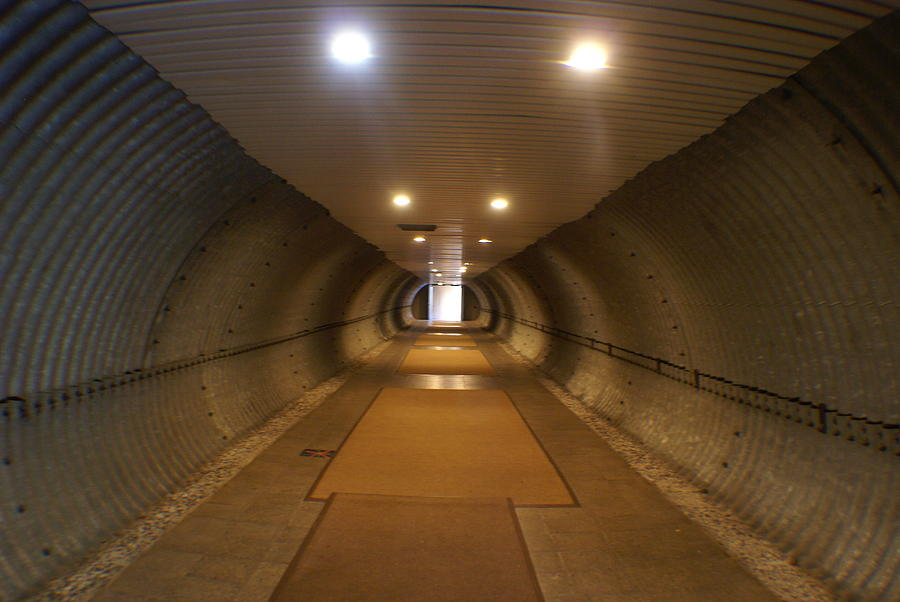 Tunnel Photograph - Tunnel by Margaret Steinmeyer