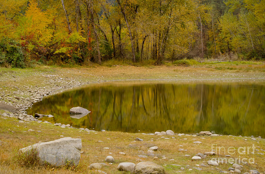 Idaho Photograph - Tunnel Pond by Idaho Scenic Images Linda Lantzy